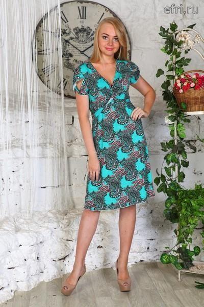 Sale Платье женское Софья Efri-D409 (вискоза)