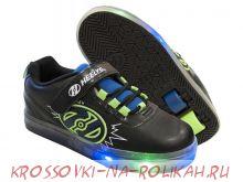 Роликовые кроссовки Heelys Pow X2 Lighted 100014