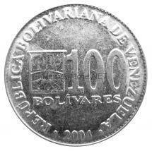 Венесуэла 100 боливар 2002 г.