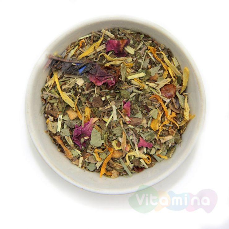 Травяной чай с мелиссой и шалфеем - В непогоду, 100г