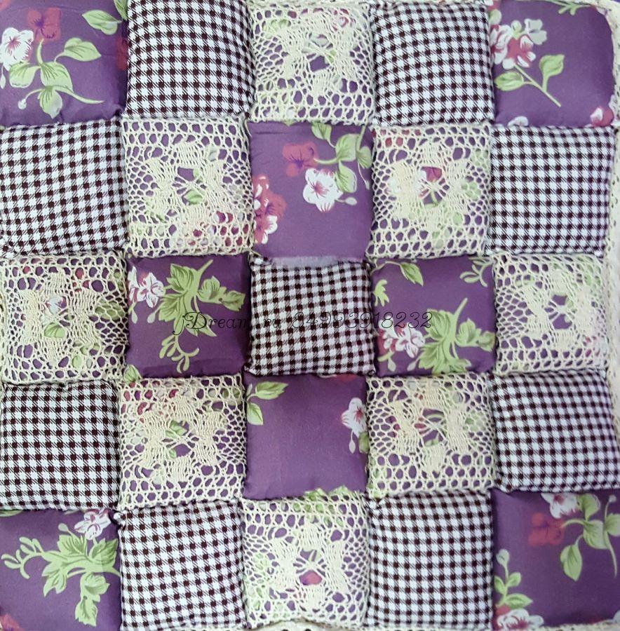Сидушка на стул Цвет Баклажан