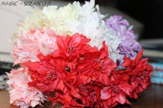 Цветы лилии тканевые - необходимо выбрать цвет
