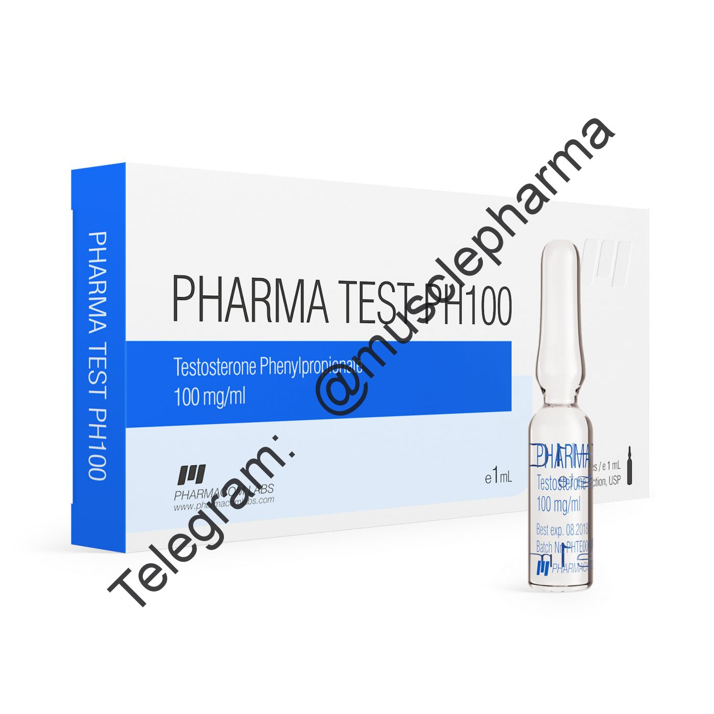 PHARMATEST PH100 (PHARMACOM LABS). 100mg/ml. 1 ml * 10 ампул