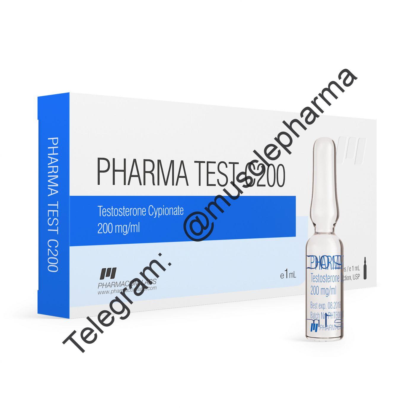 PHARMATEST C 250 (фарматест). 250mg/ml 1 ml * 1 ампула