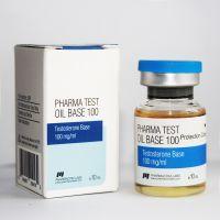 PHARMA TEST 100 OIL BASE (PHARMACOM LABS). 100mg/ml 10ml * 1 флакон