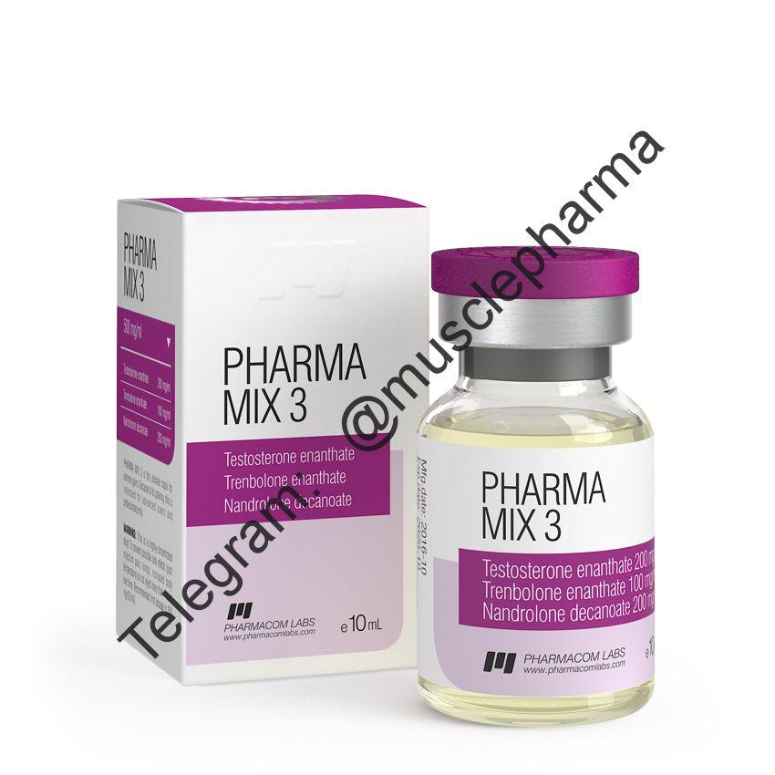 PHARMAMIX 3 (ФАРМАКОМ). 500 mg/ml 10 ml * 1 флакон
