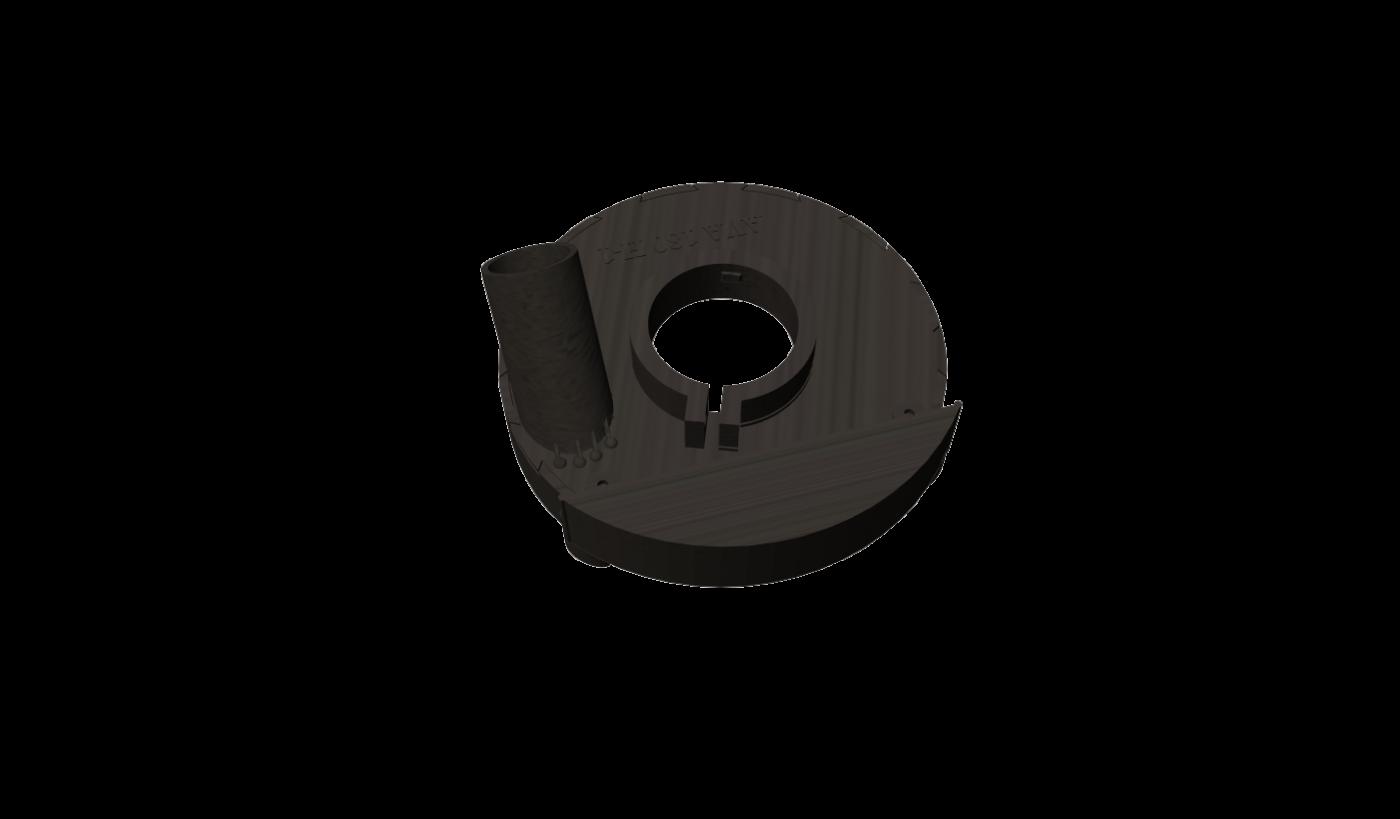 Кожух для шлифования без пыли AVA 180H-1PRO