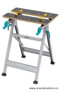 Универсальный складной верстак (зажимный стол) 645x450x800 Wolfcraft Master 200 6177000