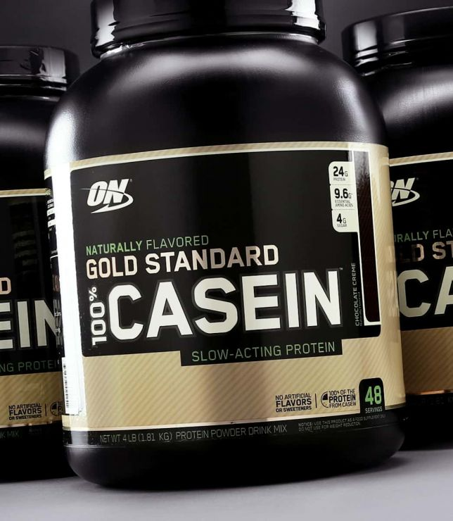 Optimum Nutrition Naturally Flavored Gold Standard 100% Casein 2 lb (907г)