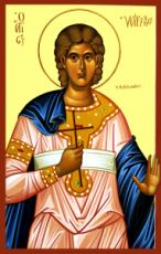 Иакинф Римский  (рукописная икона)