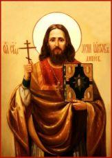Иаков Гусев (Дивеевский) (рукописная икона)