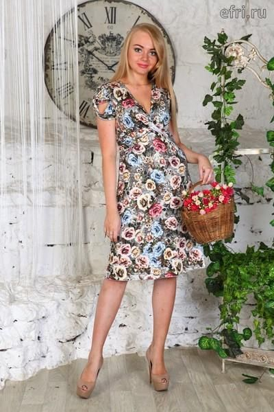 Sale Платье женское Софья Efri-D408 (масло)
