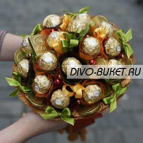 """Букет из конфет №671 """"Кара-Кум"""""""