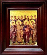 12 апостолов (21х24), простой киот