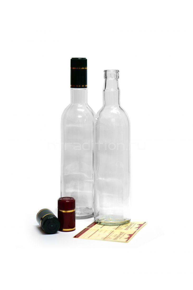 Бутылка под дозатор 0,7 / 16 шт. (колпачок гуала 58 мм)