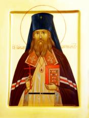 Иаков Маскаев (Барнаульский) (рукописная икона)