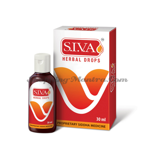 S.I.V.A.  капли иммуномодулятор Dr.J.R.K'S Siddha S.I.V.A Herbal drops