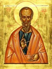 Родион Патрасский (Иродион) (рукописная икона)