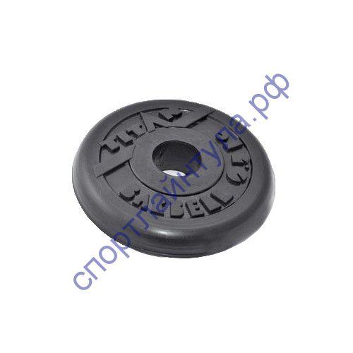 Диск обрезиненный d-26 мм 0,5 кг