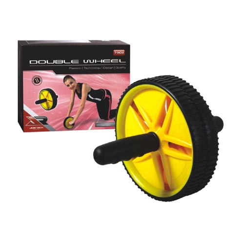 Ролик гимнастический c 2-мя колесами JOEREX