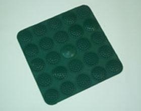 Коврик массажный для стоп 35*35 см (резина)