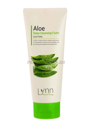 Welcos Natural Therapy Lynn Cucumber Deep Cleansing Foam 120g