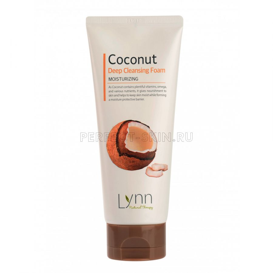 Welcos Natural Therapy Lynn  Coconut Deep Cleansing Foam 120g