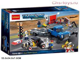 Конструктор Decool Speed Ford F-150 Raptor & Ford Model A Hot Rod 78116 (Аналог LEGO Speed 75875) 674 дет