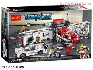 Конструктор Decool Speed Пит-лейн Porsche 919 Hybrid и Porsche 917K 78117 (Аналог LEGO Speed 75876) 749 дет
