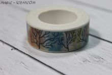 """Бумажный скотч """"Деревья"""""""