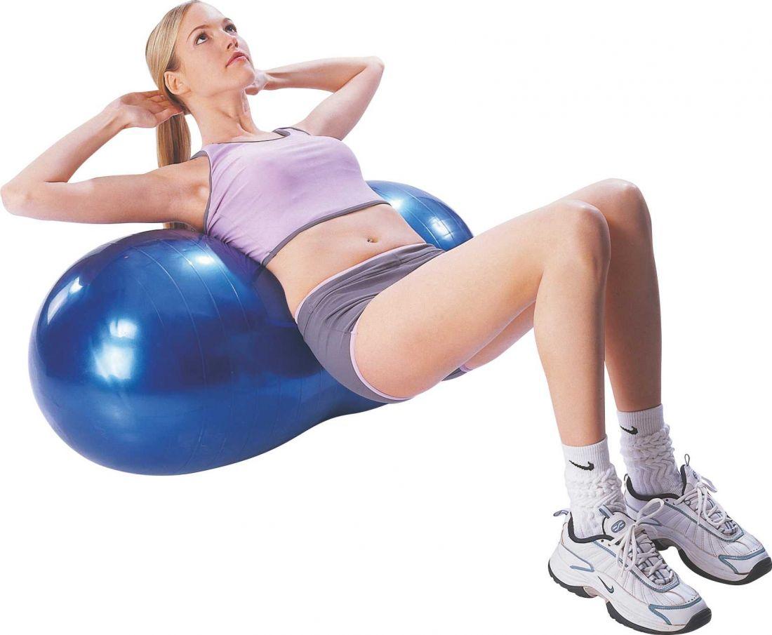 Мяч гимнастический овальный Pro-Supra