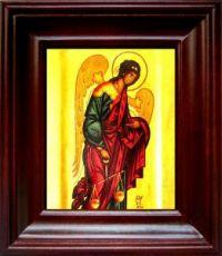 Архангел Иеремиил (21х24), простой киот