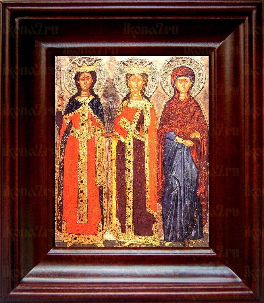 Екатерина и Варвара (21х24), простой киот