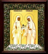 Елизавета и Варвара (21х24), киот со стразами