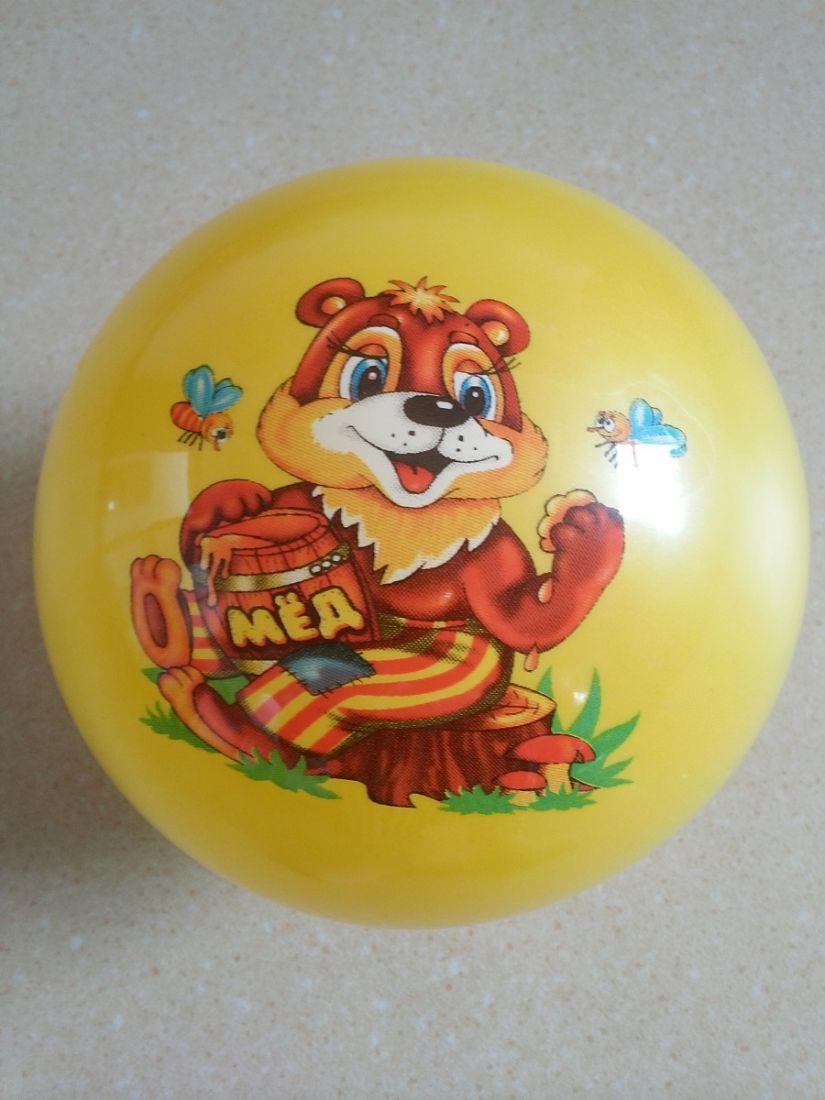 Мяч резиновый детский Great G-1-13