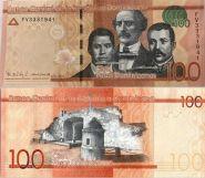 Доминикана - 100 Песо 2016 UNC
