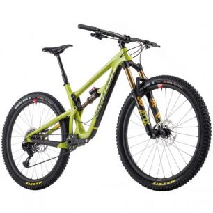 Santa Cruz Hightower LT Carbon CC 29 XX1 Eagle Reserve Bike 2018 lime green