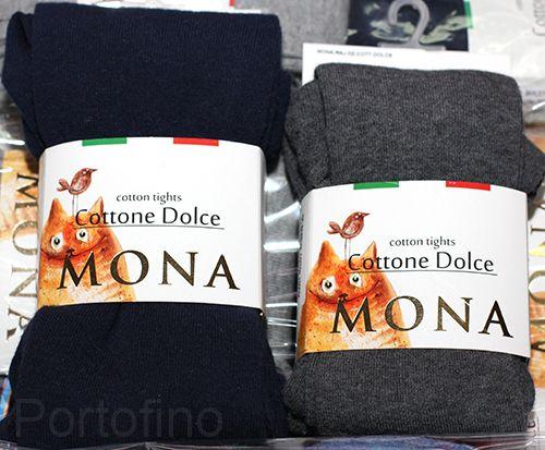 4 штуки однотонные колготки Mona