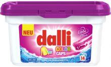 Dalli Средство для стирки цветных изделий Color Caps в капсулах 14 шт 425 г