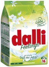 Dalli Feelings Стиральный порошок для стирки белого и светлого белья с свежим цветочным ароматом 16 стирок 1,04 кг