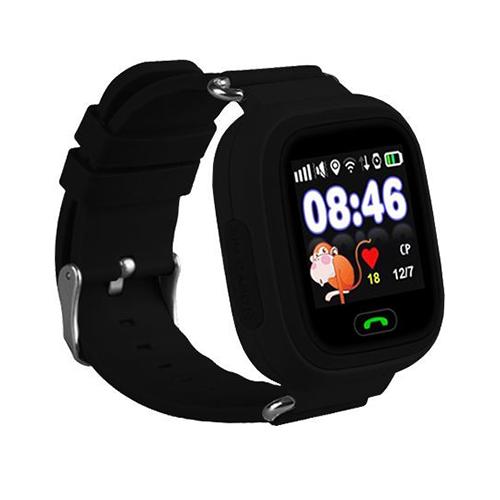 Умные детские часы с GPS Smart Baby Watch Q80 (черный)