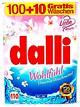 Dalli Wohlfühl Универсальный концентрированный стиральный порошок для цветного и белого белья с приятным цветочным ароматом 110 стирок 7,15 кг