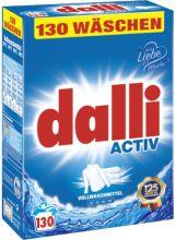 Dalli Active Стиральный порошок для для белого и светлого белья 130 стирок 8,45 кг