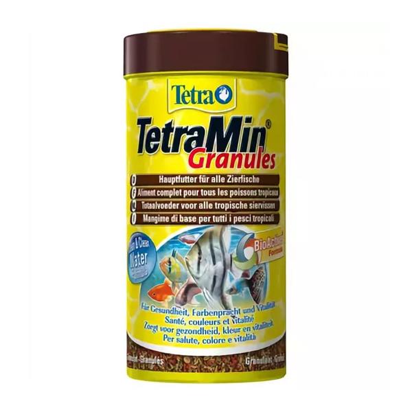 Корм Tetra Min Granulat гранулы 250мл для всех видов тропических рыб
