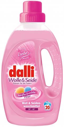 Dalli Гель для стирки шерсти и шёлка Woll Balsam 20 стирок 1,35 л