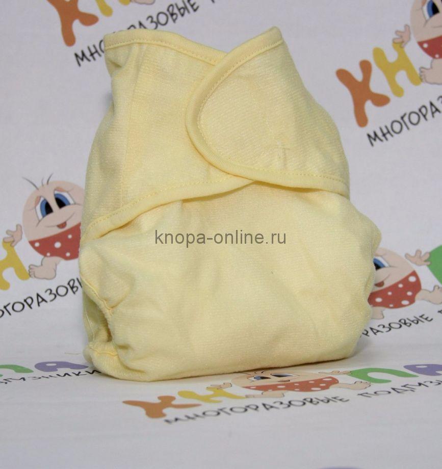 Подгузник на липучках - Желтый бамбук