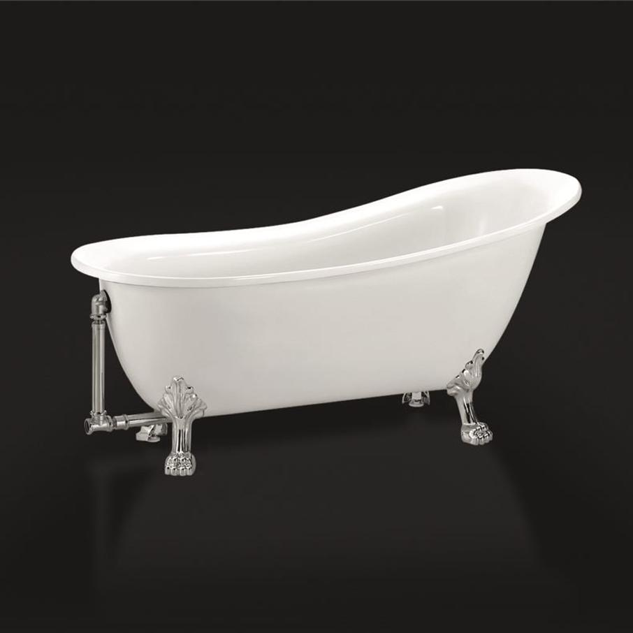 Отдельностоящая ванна с лапами Belbagno BB06 170x76 ФОТО