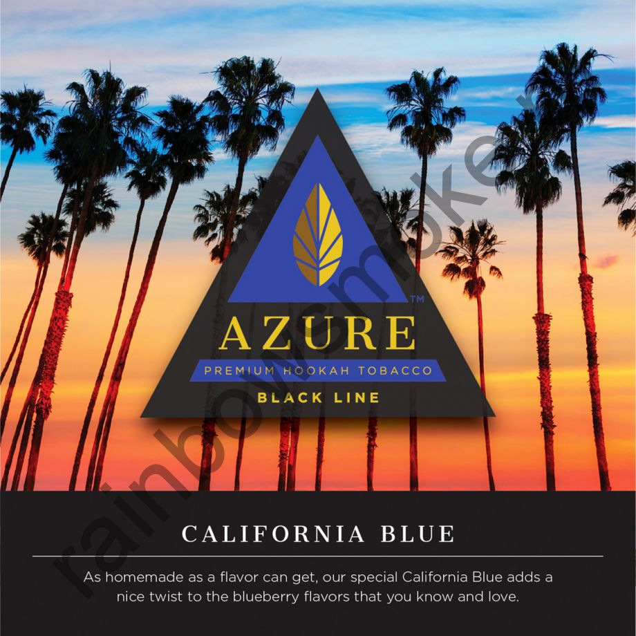 Azure Black 50 гр - California Blue (Калифорнийская Грусть)