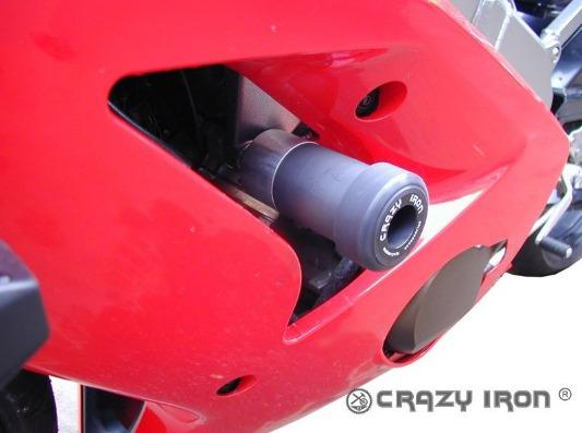[CRAZY IRON] Слайдеры для Kawasaki ZX-6R 2003-2004