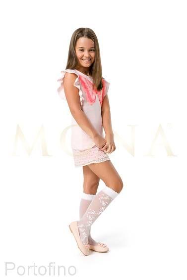 Niki02 гольфы для девочек Mona